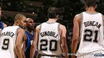 El particular homenaje de San Antonio Spurs a Ginobili, Parker y Duncan - TyC Sports