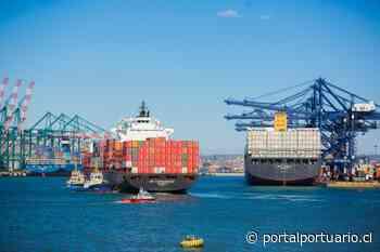 Puerto San Antonio eleva en 30% transferencia de TEU en agosto - PortalPortuario
