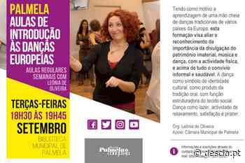 Aulas de Danças Europeias regressam à Biblioteca Municipal de Palmela - Revista Descla