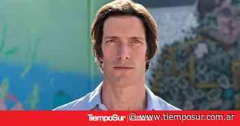 Iván de Pineda estuvo en El Calafate grabando su programa de viajes - TiempoSur Diario Digital
