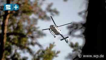 Menden: Polizei jagt Einbrecher-Trio mit dem Hubschrauber - WP News