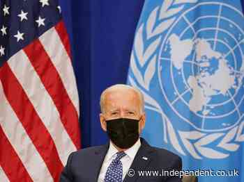 Biden to tell UN he doesn't want new cold war with China