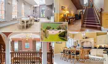Grand Wiltshire manor house which was owned by Henry VIII goes on the market for £6.75m