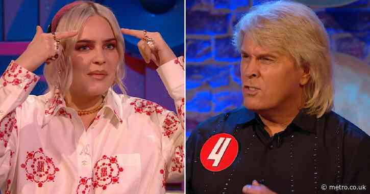 Anne-Marie offends Bucks Fizz singer with Botox dig in Never Mind The Buzzcocks line-up challenge