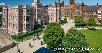 Newcastle University rated one of the UK's healthiest in report
