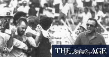 From the Archives, 1986: Matthews the hero in second-ever tied Test match