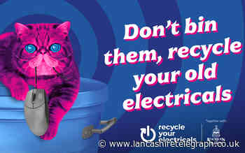 Blackburn with Darwen backs electrical recycling campaign