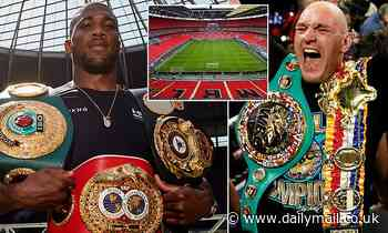 Anthony Joshua vs Tyson Fury double-header 'could FINALLY take place in 2022' in London