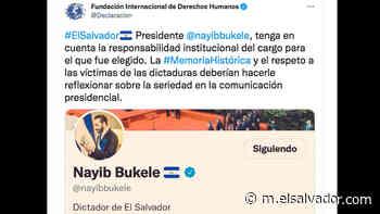 """Bukele se describe como """"Dictador de El Salvador"""" y en Twitter muestran rechazo   Noticias de El Salvador - elsalvador.com"""