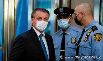 Bolsonaro BREAKS NYC mandates by entering the U.N. General Assembly hall unvaccinated