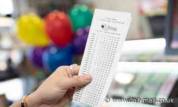 What were the winning numbers drawn in Oz Lotto $30million on Tuesday