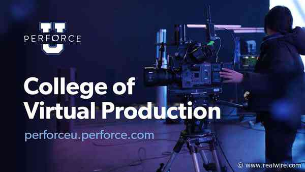 Perforce Software Invests in the Future of Filmmaking with New Virtual Production Initiatives