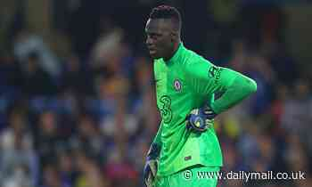 Chelsea keeper Edouard Mendy fighting to be fit for crunch clash against Manchester City on Saturday