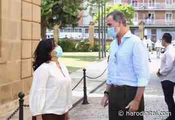 Izquierda Unida rechaza la visita de Felipe VI a La Rioja - Haro Digital