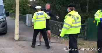 """Insulation fitter screams at M25 Insulate Britain protesters: 'get out of the way!"""""""