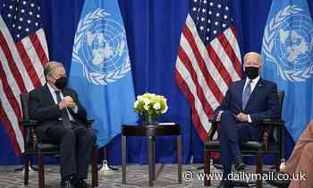 Biden to deliver his first address as president before the United Nations General Assembly