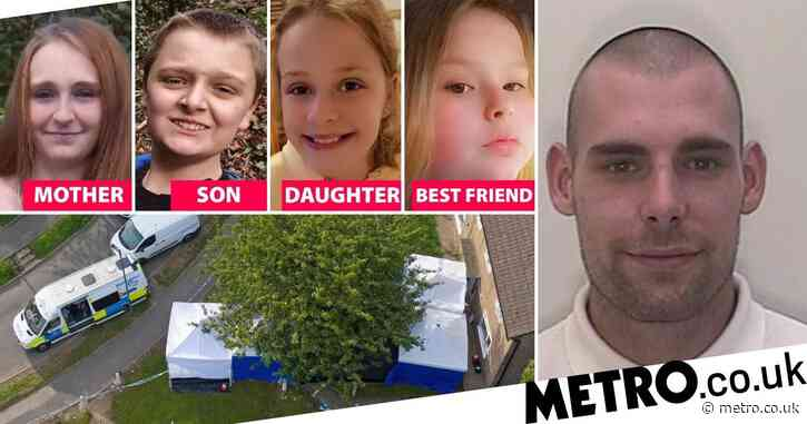 Pictured: Boyfriend, 31, arrested over 'murders of mum and kids on sleepover'