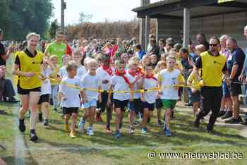 Nieuwe formule voor scholenveldloop in Speelbos - Het Nieuwsblad