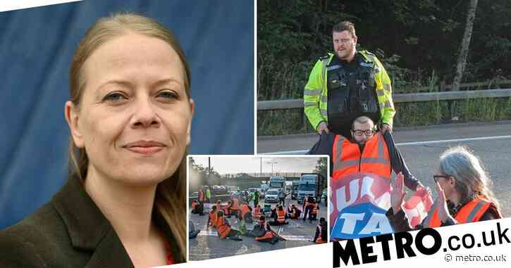 Green Party leader slams climate protesters on M25 'putting others at risk'