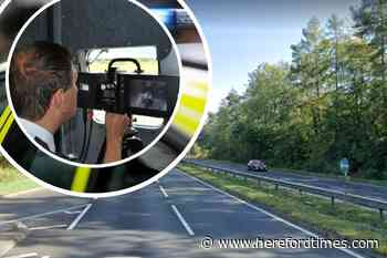 Fined: the speeders caught on camera on the A40 in Herefordshire