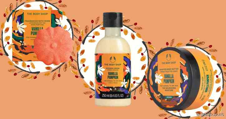 The Body Shop's pumpkin spice range is back – and this time it's staying