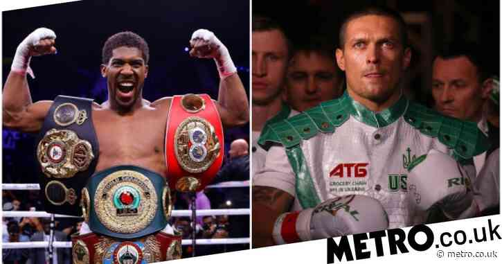 Why Anthony Joshua has chosen to train with more amateur fighters than professionals ahead of Olesakndr Usyk showdown