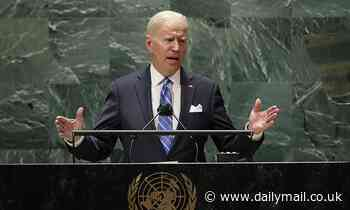 Biden delivers his first address as president before the United Nations General Assembly