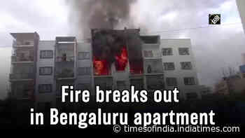 Fire breaks out in Bengaluru apartment