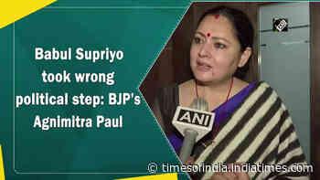 Babul Supriyo took wrong political step: BJP's Agnimitra Paul