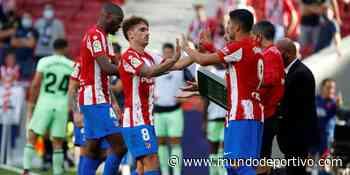 Once muy ofensivo del Atlético ante el Getafe