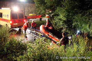 Schwimmer im Main löst große Suchaktion in Aschaffenburg aus - Main-Echo