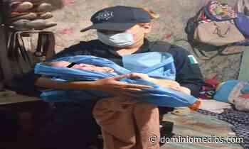 Nace bebé en domicilio de Guadalupe; policías brindan primeros auxilios - Dominio Medios