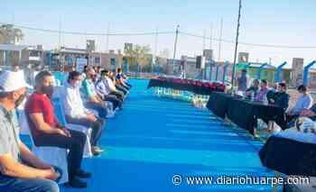 Inauguraron el playón Virgen de Guadalupe - Diario Huarpe
