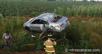 Se registra accidente vial en Guadalupe - NTR Zacatecas .com