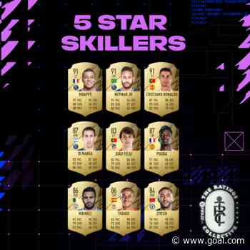 FIFA 22 ratings: Mbappe tops pace list as 5* skill players revealed