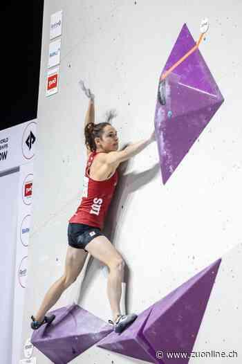 Sportklettern: WM in Moskau - Andrea Kümin feiert ihren grössten Erfolg - Zürcher Unterländer