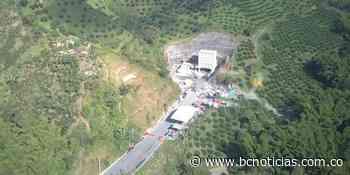 El Túnel de Tesalia, una obra que hace parte del proyecto Pacífico 3, presenta un avance del 99% - BC NOTICIAS - BC Noticias