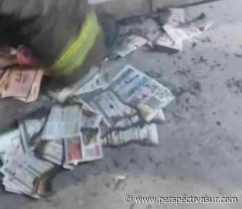 Susto en Quilmes centro por el incendio de una caja eléctrica - Perspectiva Sur