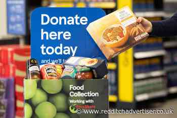 Tesco shoppers in Redditch thanked for generous food donations | Redditch Advertiser - Redditch Advertiser