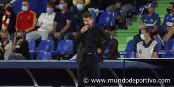 """Simeone: """"Éste Atlético no es el mismo del que se fue Griezmann"""""""