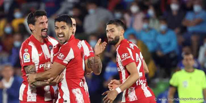 Luis Suárez rescata al Atlético en Getafe