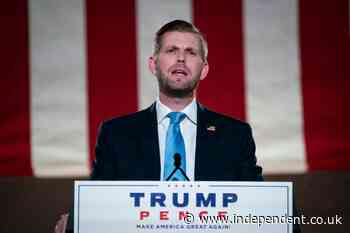 Lawyer who represented alleged war criminal drops Eric Trump as a client