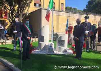 Inaugurato a Legnano il monumento dedicato alle vittime della Polizia di Stato - LegnanoNews.it