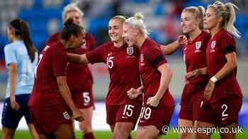 England cruise to 10-0 win in World Cup qualifier