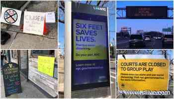 Rolling 'funeral home' billboard amid coronavirus has an unusual twist - SILive.com
