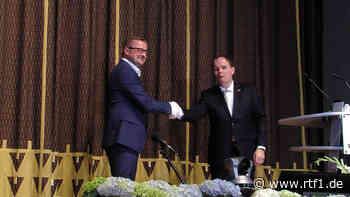 Stefan Wörner ist nun offiziell Bürgermeister von Pfullingen   RTF.1 - RTF.1 Regionalfernsehen - Nachrichten