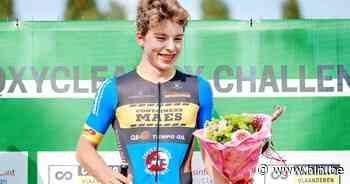 """Jori Van de Sompel heeft eerste crosszege beet: """"Leuk om in Knesselare te winnen, want het is niet ver van huis op een snel en technisch parcours"""" - Het Laatste Nieuws"""