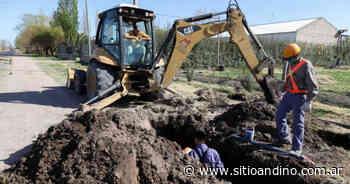 San Rafael: el agua potable llega a los puntos más alejados - Sitio Andino