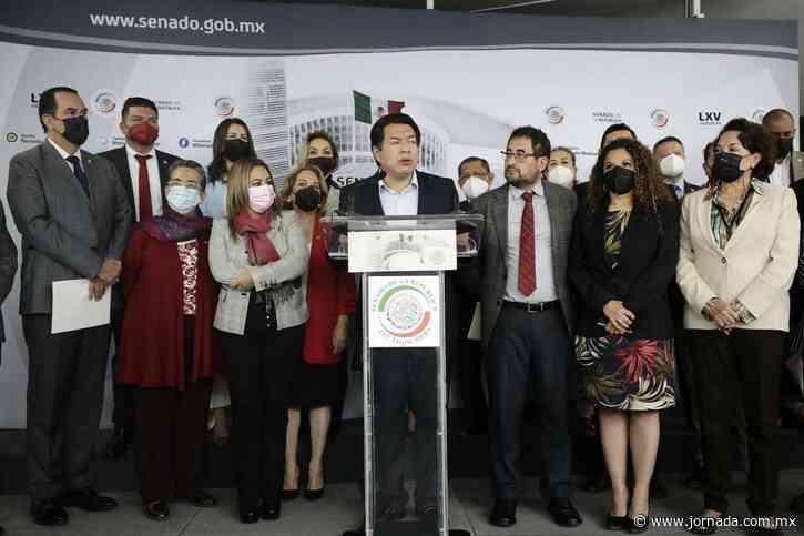 Delgado y senadores de Morena avanzan en consulta de revocación - La Jornada