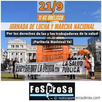 Salud: profesionales de Mercedes serán parte de Jornada Nacional de Lucha - Noticias Mercedinas